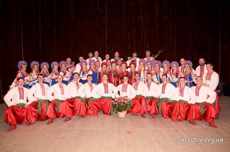 народный хор Украины
