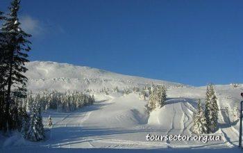 катание на лыжах - Славское