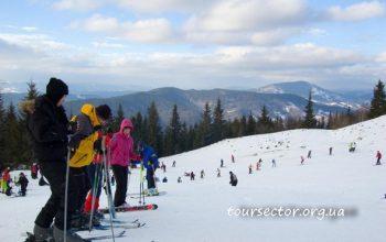 Лыжные трассы Карпат - Славское