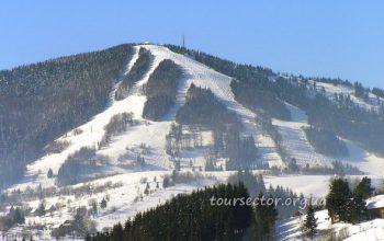 курорт Славское - лыжные трассы