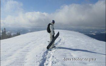 Лыжный туризм - Славское