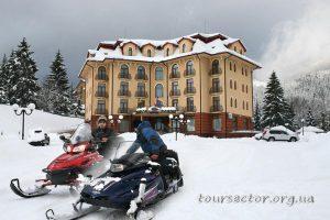 отдых в Карпатах - отель Пилипец