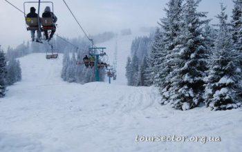 Пилипец на Закарпатье - лыжный курорт