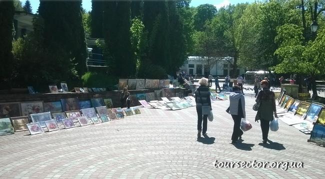 рынок в Трускавце