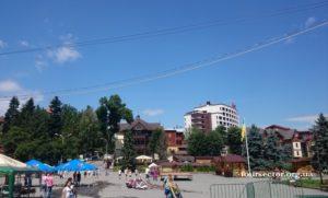 центр Трускавца