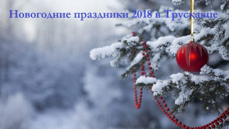 новый год 2018 в Трускавце