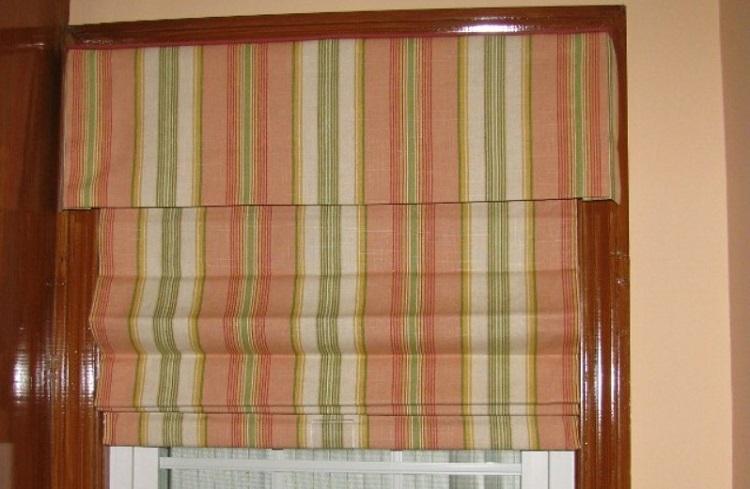 римские шторы