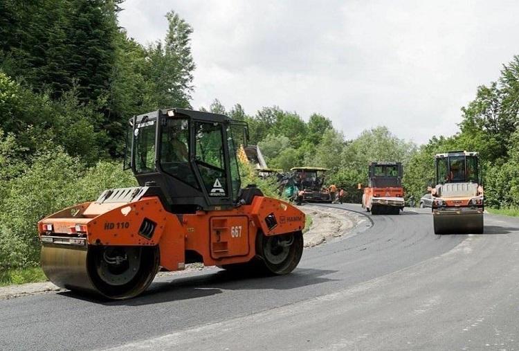 ремонт дороги к Сходнице