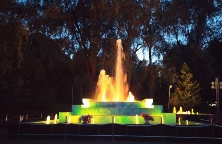 фонтан в Трускавце
